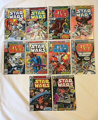 STAR WARS 1977 Vintage Comics Lot of 10 - Issues #11 to #20 [All 1st Prints!!]