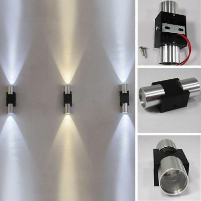 LED Modern Wall Light Sconce Dual Head Wall Lamp Fixture Indoor Outdoor Porch