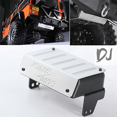 Stainless Fuel Tank Exhaust Pipe DJC-9158 for TRAXXAS TRX-4 Land Rover Defender
