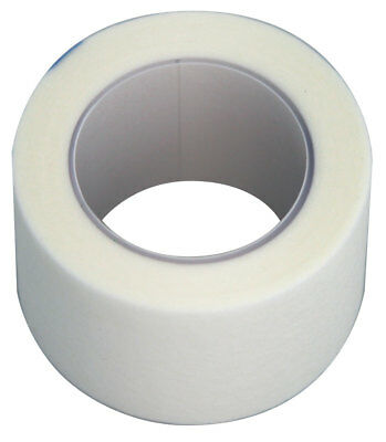 Surgical Paper Tape, 12.5mm x 9m. Box of 12. White, Hypoallergenic.