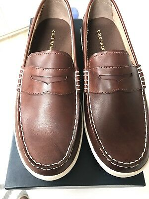 1e87e8db17c Cole Haan Mens Pinch Weekender Penny Loafer Road Trip Sz 10.5 Woodbury  Handstain