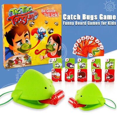Funny Take Card-Eat Pest Catch Bugs Game Desktop Games Board Games for Kids
