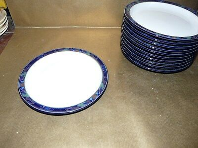 "denby baroque tea / side plate 6.75"" diameter"