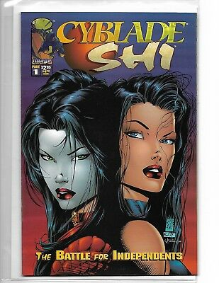 Cyblade / Shi #1 Marc Silvestri Variant Image Comics First Appearance Witchblade