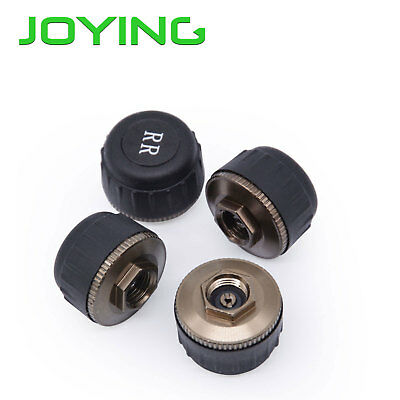 TMPS 4 Sensors Tire Pressure Monitoring System for JOYING Android 8.0 Car Stereo