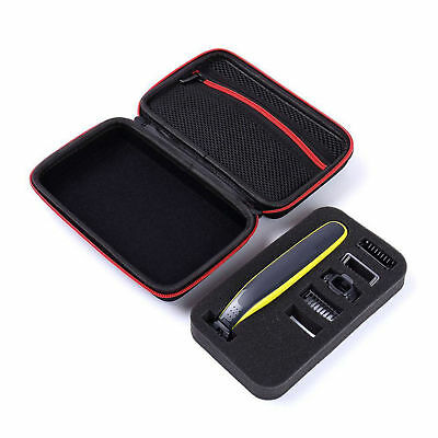 Shaver Storage Bag Hard Box Travel Portable Case Cover Bag for Philips One Blade