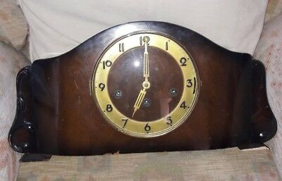 Large Vintage Chiming Mantle Clock