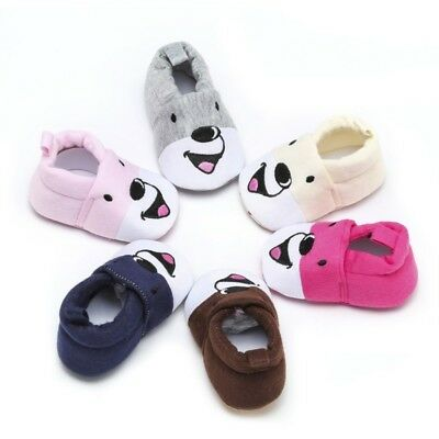Baby Autumn Winte Cartoon Shoes Baby Unisex Soft Sole Casual Walking Crib Shoes