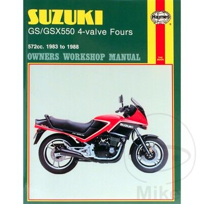 English Repair Manual Suzuki Gsx 550 E Handlebar Fairing 1983-1984 (H8013)