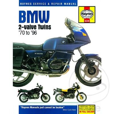 English Repair Manual For Bmw R 80 Rt/2 Monolever 1992