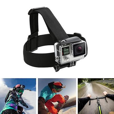 Elastic Adjustable Headband Head Strap Helmet Harness f Gopro Hero 5 4 3+3 SJCAM