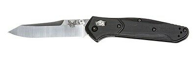 Benchmade 940-2 3d g10 Handle S30 Osborne Reverse Tanto Plain Edge Folding Knife