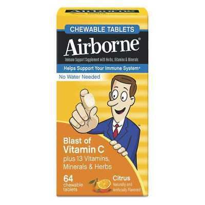 AIRBORNE 47865-18631 Immune Support,Chewable Tablet,Box