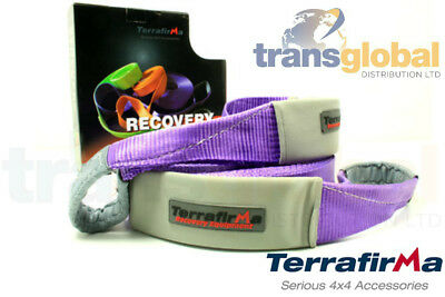 Off Road Recovery 20m Winch Extension Strap 11T Load - Terrafirma - TFES11000