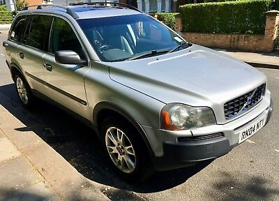 VOLVO XC90 2004, Petrol, T6 SE 2 9, AWD Geartronic, Silver