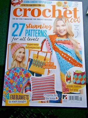 Crochet Now Magazine Issue   25 (new) No Free Gift 2018