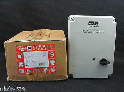 Helios RDS1 5 Speed 3 Phase Controller (D523)