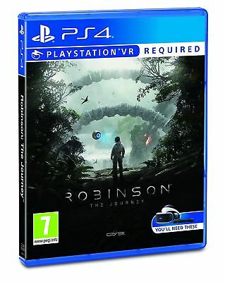 Robinson The Journey VR PSVR PS4 New and Sealed