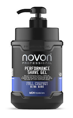 Novon Professional Shaving Gel - Rasiergel 1000ml XXL super Duft Rasier Gel