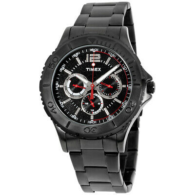 Timex Black Dial Stainless Steel Men'S Watch Tw2P87700