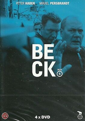 Beck Box 6 (series 21-24) 4-DVD English subtitles episodes before UK releases
