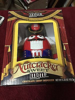 M&M's Limited Edition Holiday Nutcracker Sweet Candy Dispenser
