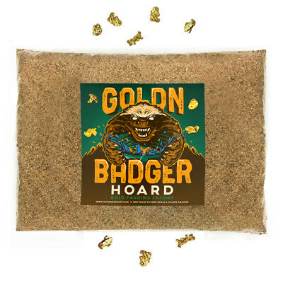 Goldn Badger™ 'hoard' Gold Paydirt Panning Unsearched Gold Concentrate