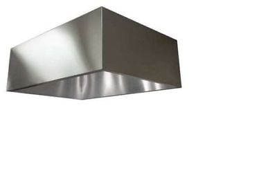 COMMERCIAL KITCHEN EXHAUST Hood, SS, 72 in - $550.00 | PicClick