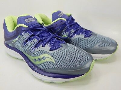 WOMEN'S SIZE 11.5 Saucony Guide ISO (greymintorange