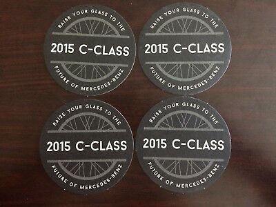 Mercedes-Benz Coasters - 2015 C-Class, 4 Coasters