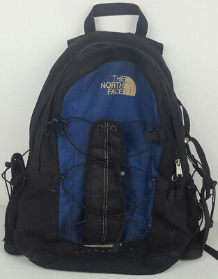 f8c0e03be THE NORTH FACE Slingshot Blue Black Hiking Outdoors Day Pack Backpack