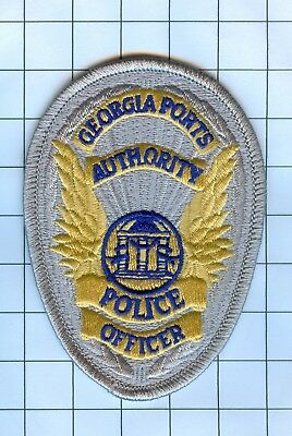 Police Patch Embroidered Mini-Patch  - Georgia - Officer Port Authority