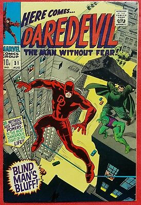 DAREDEVIL 31 MARVEL SILVER AGE 1967 Mr Hyde & The Cobra