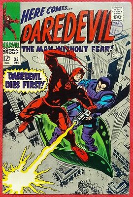 DAREDEVIL 35 MARVEL SILVER AGE 1967 Behold The Beetle
