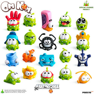 PROSTO TOYS Cut the Rope, Collection Figure, Set (20 pc.), Cartoon Character