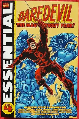 Daredevil Essential Volume 4 Marvel Graphic Book