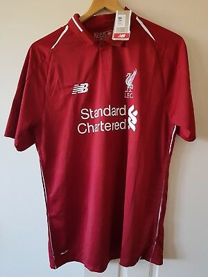 2018-19 Mo Salah LFC Liverpool Football Club MENS HOME SHIRT 18/19 season