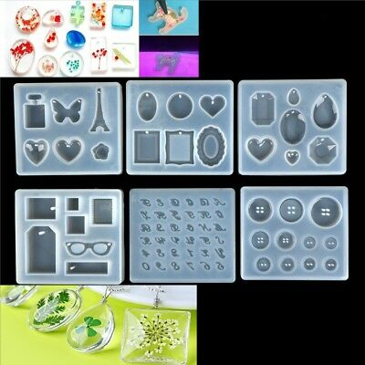 Necklace pendent Silicone Mould DIY Resin Decorative Craft Jewelry Making Mold