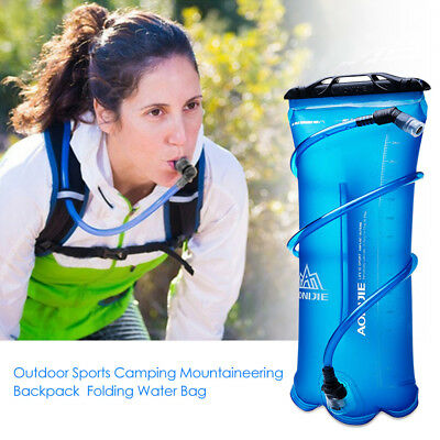 Hiking Camping Cycling Running Hydration Pack Backpack Bag + 2L Water Bladder AU