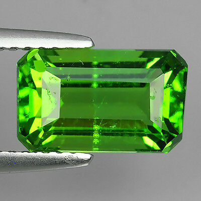 2.88 Ct Ebay Fabulous Chrome Green Natural Moldavite Octagon Cut Loose Gemstones
