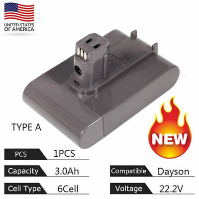 For  Dyson Replace Battery 22.2V 3.0Ah 17083-4211 DC31 DC34 DC35 Type A