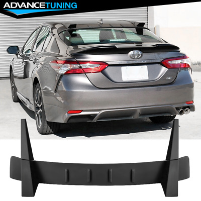 Matte Black Fits 18-20 Toyota Camry Rear Roof Spoiler