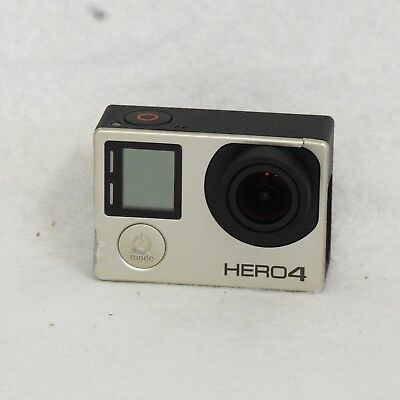 GoPro HERO4 Action Camera with Touch Screen UHD 4K HD 1080p 720p Silver Edition