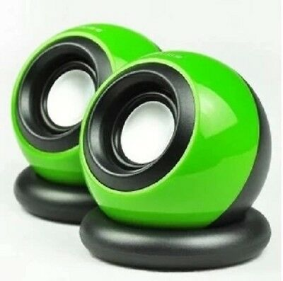 Mini Portable USB Powered Audio Music Player Speaker For Laptop PC Computer