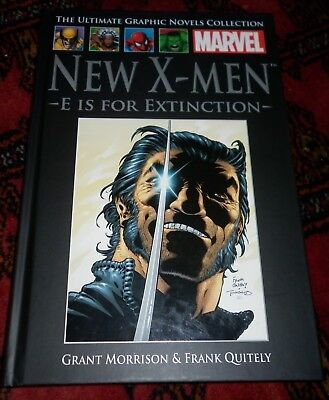 Marvel Ultimate Graphic Novels Collection #23 #17 New X-Men E Is For Extinction