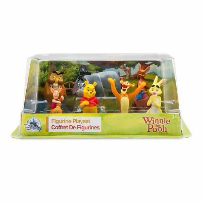 Authentic Disney Winnie the Pooh Figure Set figurine Toy Cake Topper New