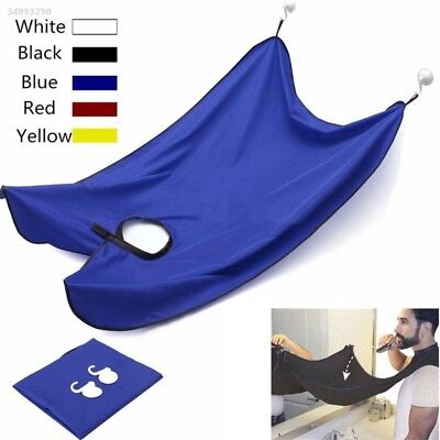 399A NEW Beard Shave Apron Cape Cloth Bib Facial Hair Trimming Grooming Catcher