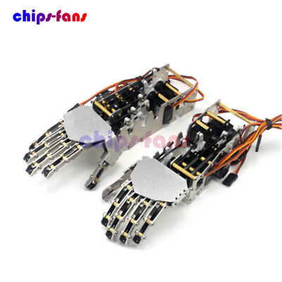 5 DOF 5 Fingers Humanoid Manipulator Arm Right Hand with 5Pcs Servos for Robot