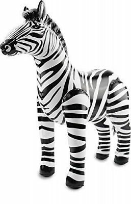 INFLATABLE BLOW UP ZEBRA TOYS HALLOWEEN FANCY DRESS ZOO ANIMAL THEME KIDS GIFTs