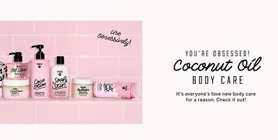 Victoria Secret PINK Label Coconut Oil Bath or Body Products Choose 1 Nourishing
